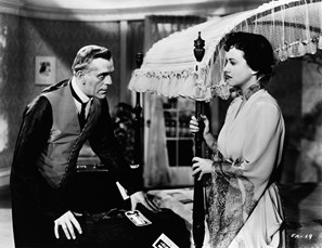 BORIS KARLOFF, MARGARET LINDSAY BRITISH INTELLIGENCE