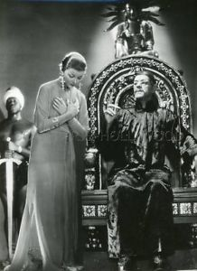 Boris Karloff Myrna Loy %22The Mask of Fu Manchu%22
