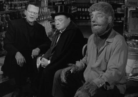 Boris Karloff, Peter Lorre, Lon Chaney Jr. Route 66