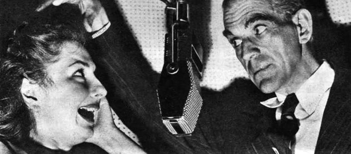 Boris Karloff radio