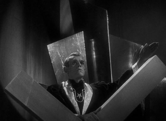 BORIS KARLOFF THE BLACK CAT (DIR. ULMER)