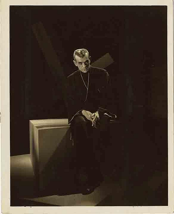 Boris Karloff THE BLACK CAT publicity