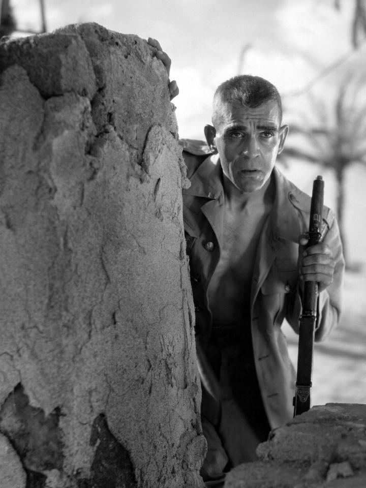 Boris Karloff The Lost Patrol