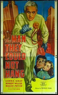 Boris Karloff The ManThey Could Not Hang 1939 poster