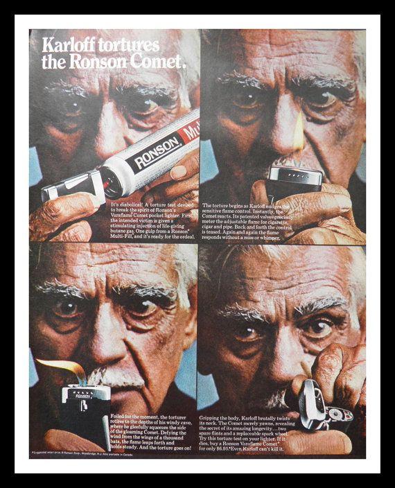 Boris Karloff The Ronson Comet