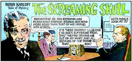 Boris Karloff The Screaming Skull