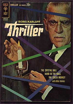 BORIS KARLOFF THRILLER COMIC