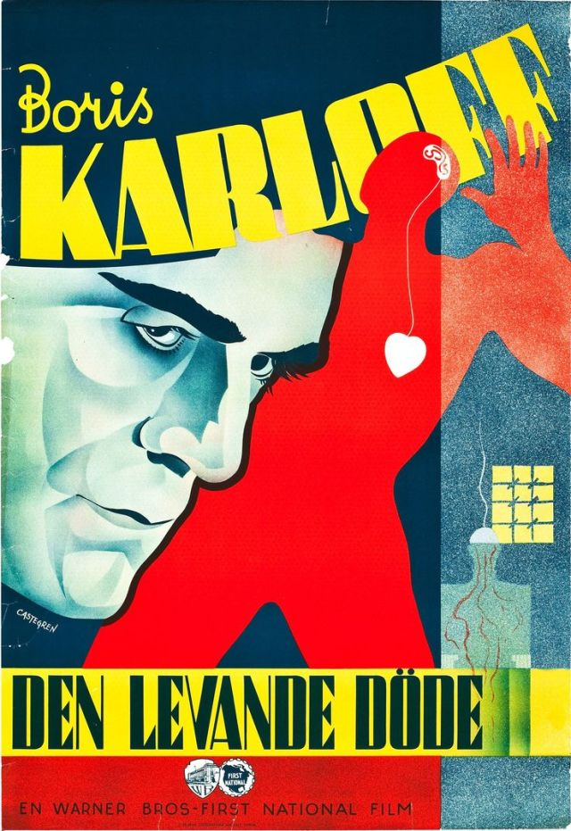 Boris Karloff Walking Dead 1936 theatrical poster