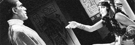 BORIS KARLOFF ZITA JOHANN THE MUMMY (1932 KARL FREUND)