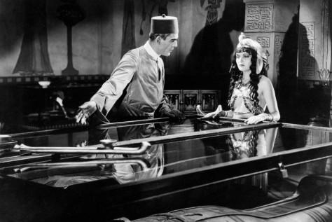 Boris Karloff Zita Johann The Mummy 1932