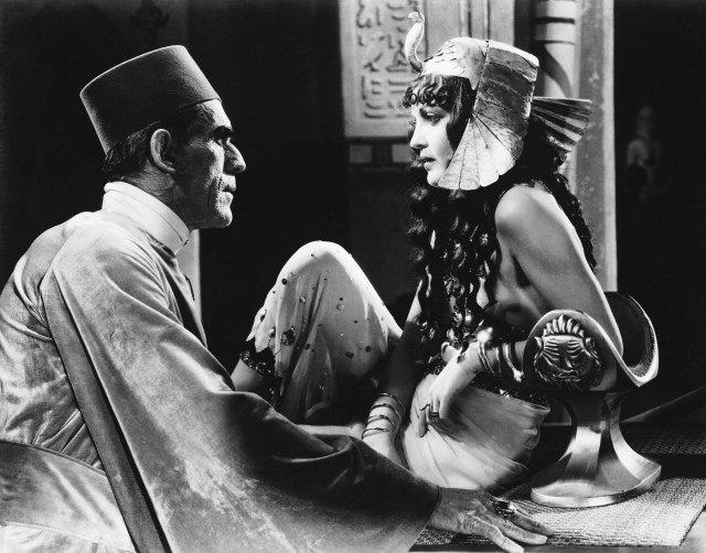 BORIS KARLOFF ZITA JOHANN THE MUMMY