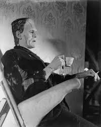 BORIS KARLOFF'S MONSTER (TEA BREAK)