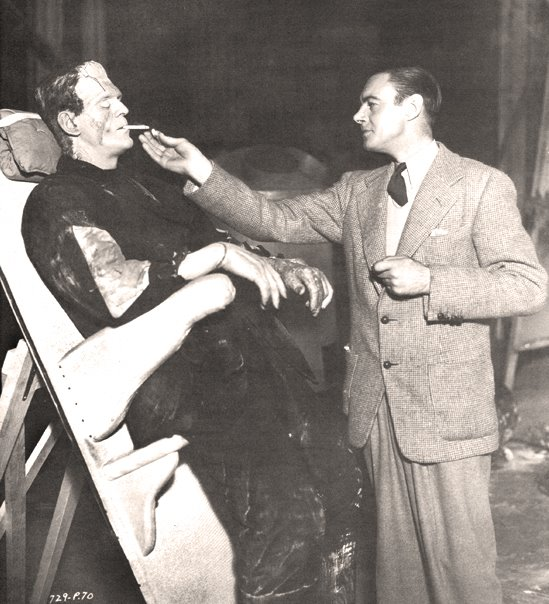 BORIS KARLOFF COLIN CLIVE SMOKEY TREAT