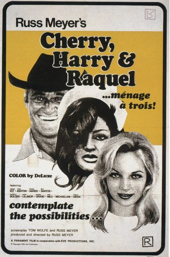 Cherry, Harry & Raquel (Russ Meyer 1970) poster