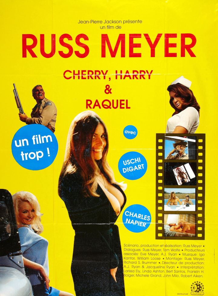 Cherry, Harry & Raquel (Russ Meyer 1970) poster
