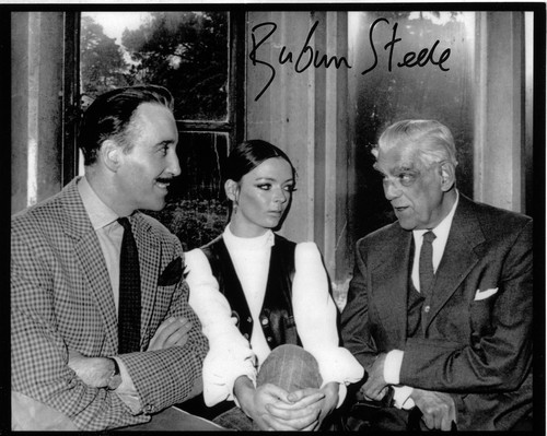 CHRISTOPHER LEE BARBARA STEELE BORIS KARLOFF
