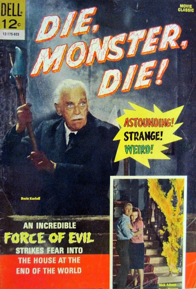 DIE MONSTER DIE COMIC BOOK