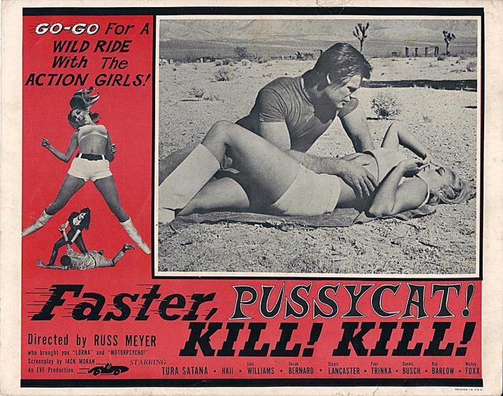 Faster Pussycat, KILL! KILL! (1965) lobby card