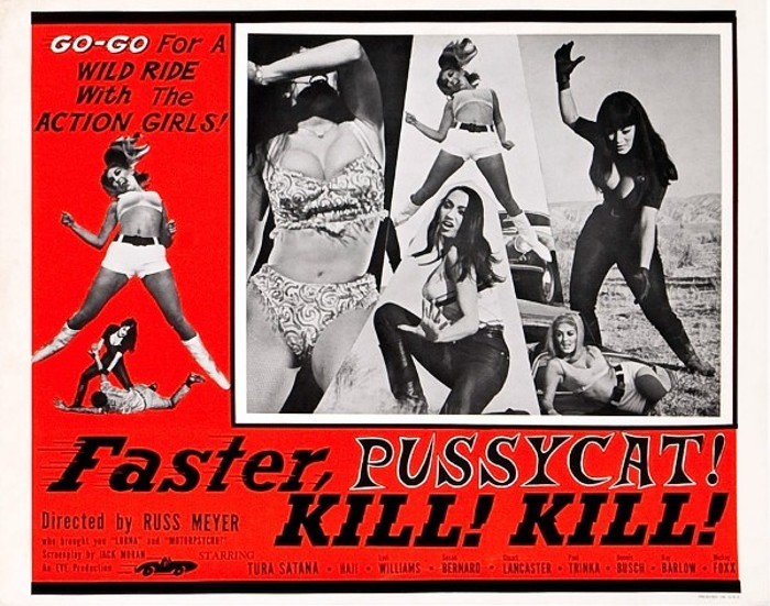 Faster Pussycat, KILL! KILL! (1965 Russ Meyer) lobby card