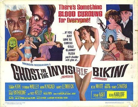 Ghost In The Invisible Bikini lobby card
