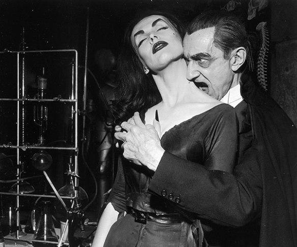 Happy Halloween Bela Lugosi and Vampira