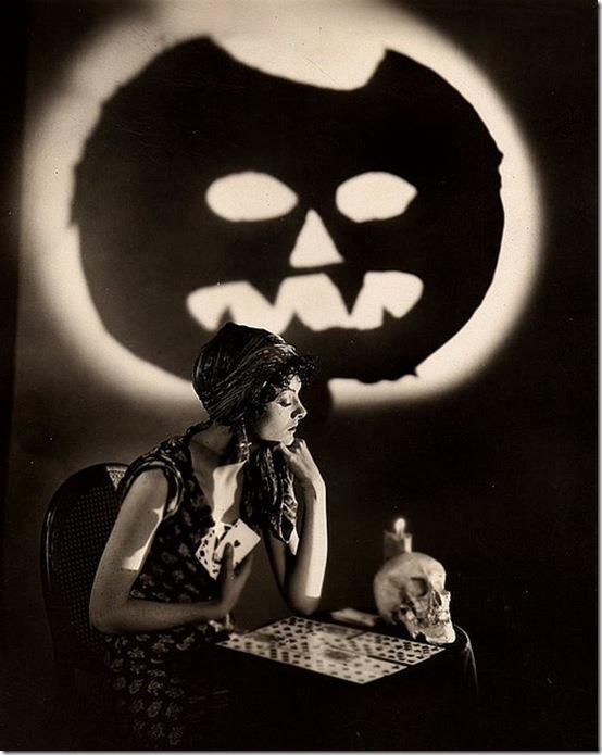 HAPPY HALLOWEEN Myrna Loy.