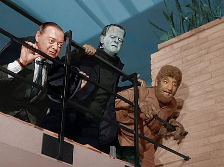 HAPPY HALLOWEEN PETER LORRE BORIS KARLOFF, LON CHANEY, JR.