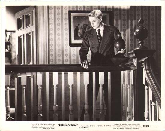 Peeping Tom (1960 Michale Powell) lobby card