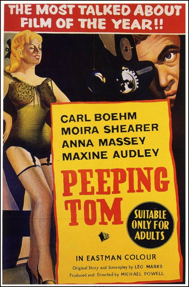 Peeping Tom (1960 Michale Powell) poster