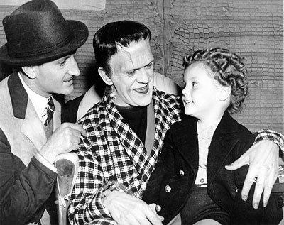 Rathbone Karloff Duanagan Son Of Frankenstein