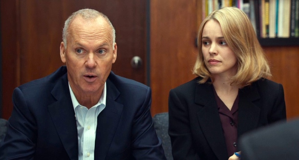 SPOTLIGHT (2015) Michael Keaton, Rachel McAdams