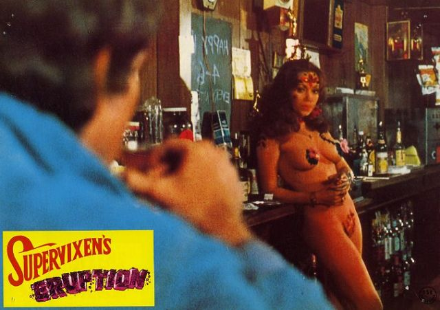 Supervixens (Dir.Russ Meyer) lobby card.