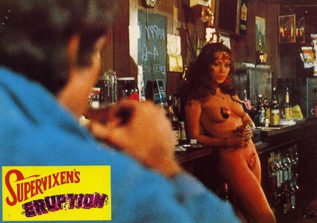 Supervixens (Dir.Russ Meyer) lobby card.