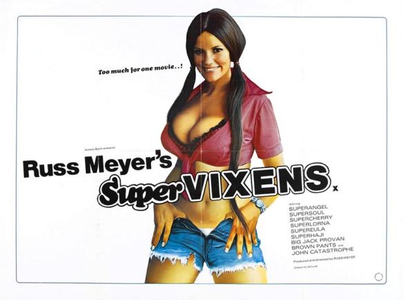 Supervixens (Russ Meyer) poster