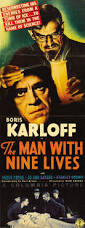 The Man With Nine Lives theatrical poster. Karloff