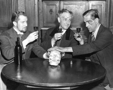 Vincent Price, Joseph Schlidkraut, Boris Karloff