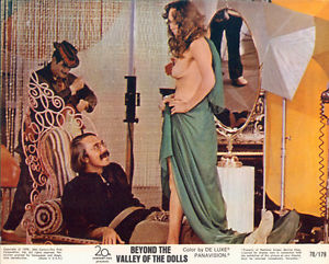 BEYOND THE VALLEY OF THE DOLLS ( Russ Meyer1970) lobby card