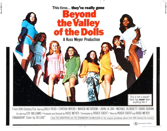BEYOND THE VALLEY OF THE DOLLS ( Russ Meyer1970) poster