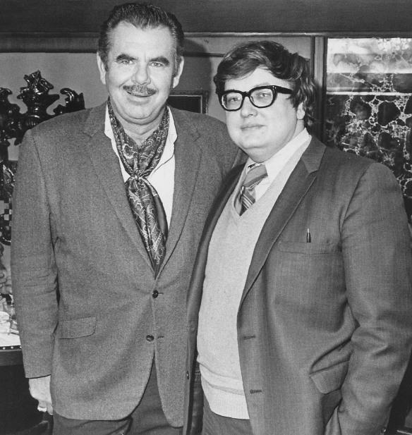 Russ Meyer and Roger Ebert