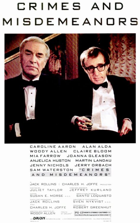 Crimes And Misdemeanors (1989 Woody Allen)