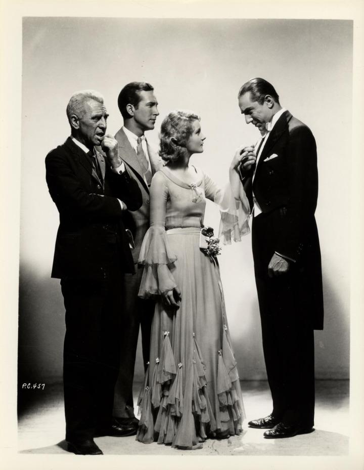 Dracula (1931 Tod Browning) Edward Van Sloan, David Manners, Helen Chandler, Bela Lugosi publicity still