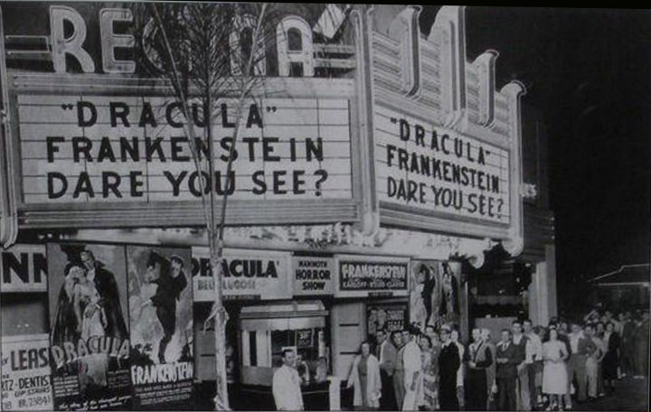 Dracula (1931 Tod Browning) Frankenstein (1931 James Whale) 1938 double bill