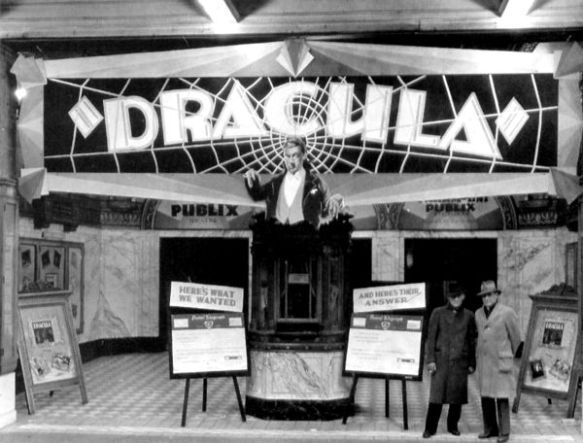 Dracula (1931 Tod Browning) theater showing