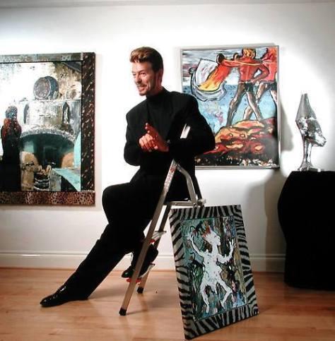 Exhibition of David Bowie's Art