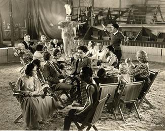 Freaks (1932) Tod Browning rehearsing wedding feast