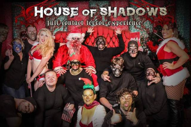 HOUSE OF SHADOWS Christmas Group © 2015 House Of Shadows