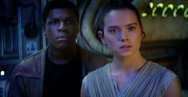 jStar Wars-THE FORCE AWAKENS (2015 Abrams) John Boyega Daisy Ridley