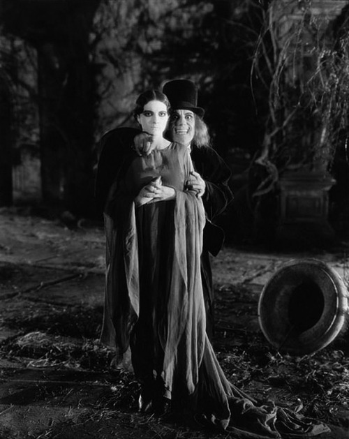 London After Midnight (Tod Browning) Edna Tichenor, Lon Chaney