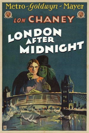 London After Midnight (Tod Browning) Lon Chaney, Edna Tichenor