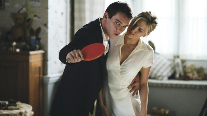 Match Point (2005 Woody Allen) Jonathan Rhys Meyers, Scarlett Johansson
